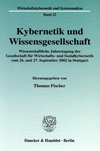 Cover: Kybernetik und Wissensgesellschaft