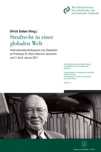 Cover: Strafrecht in einer globalen Welt