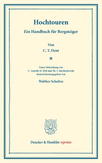 Cover: Hochtouren