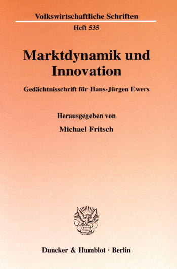Cover: Marktdynamik und Innovation