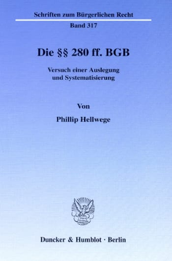 Cover: Die §§ 280 ff. BGB