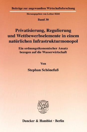 Cover: Beiträge zur angewandten Wirtschaftsforschung (AWF)