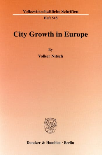 Cover: City Growth in Europe