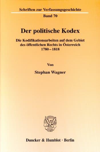 Cover: Der politische Kodex