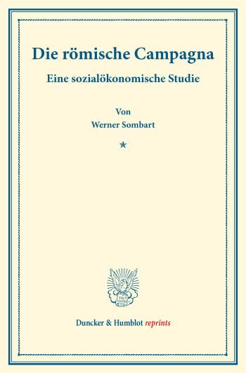 Cover: Die römische Campagna