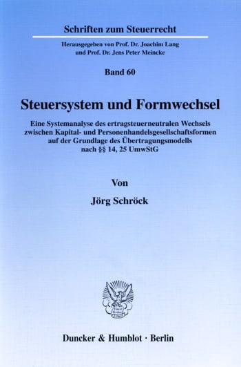Cover: Steuersystem und Formwechsel