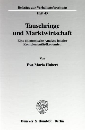 Cover: Beiträge zur Verhaltensforschung (BVF)