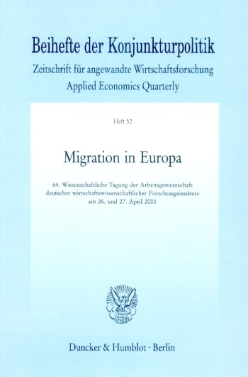 Cover: Migration in Europa