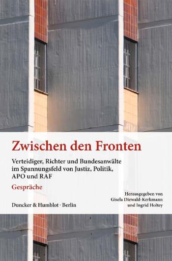 Cover: Zwischen den Fronten