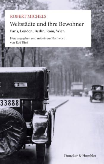 Cover: Weltstädte und ihre Bewohner