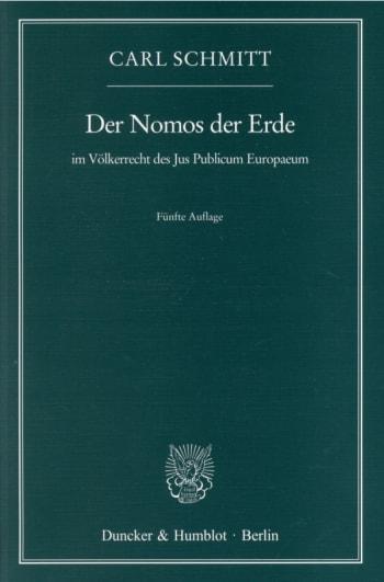 Cover: Der Nomos der Erde