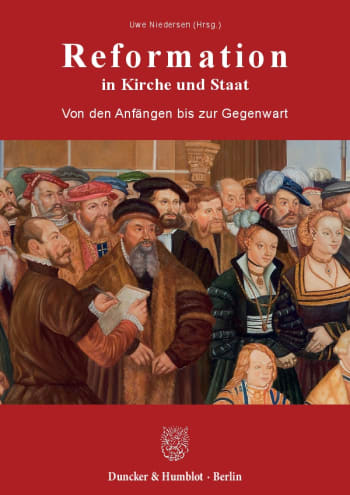 Cover: Reformation in Kirche und Staat