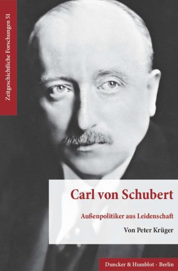 Cover: Carl von Schubert