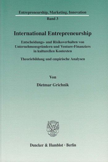 Cover: International Entrepreneurship