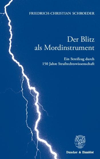 Cover: Der Blitz als Mordinstrument