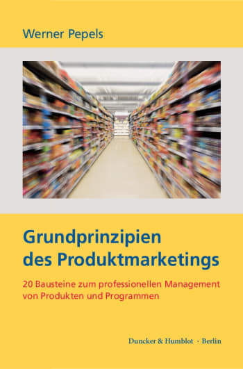 Cover: Grundprinzipien des Produktmarketings
