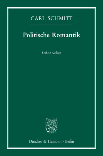 Cover: Politische Romantik