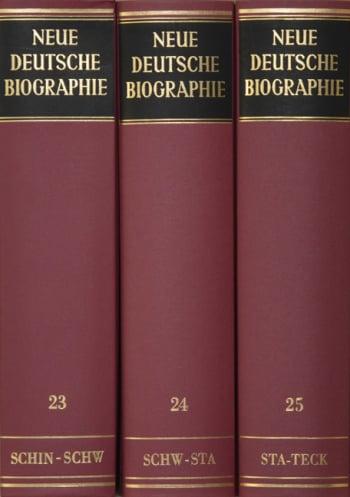Cover: Neue Deutsche Biographie, Hldr. (NDB-HLDR)