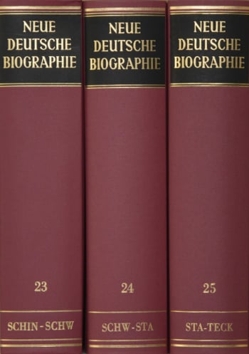 Cover: Neue Deutsche Biographie, Lw. (NDB-LW)