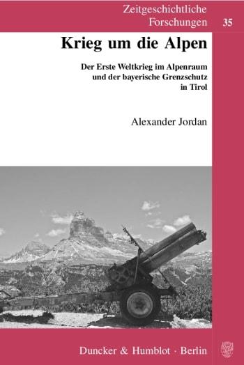 Cover: Krieg um die Alpen