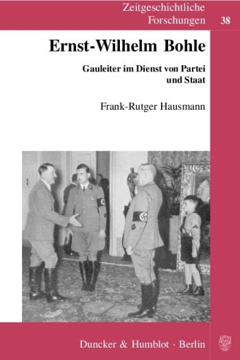 Cover: Ernst-Wilhelm Bohle