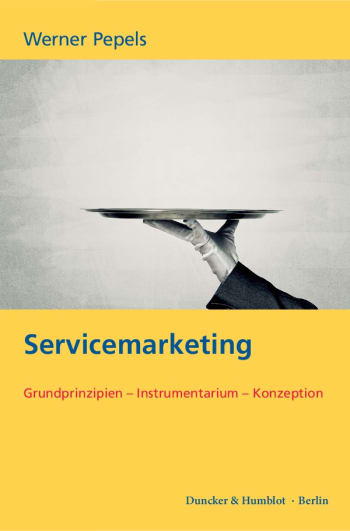 Cover: Servicemarketing