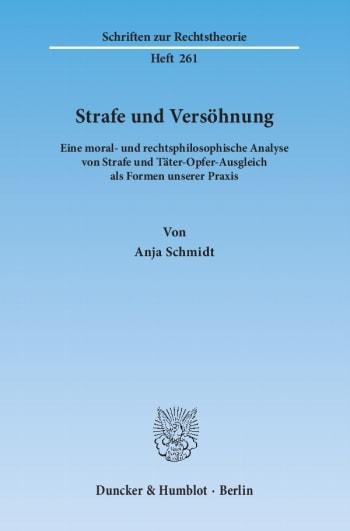 Cover: Strafe und Versöhnung