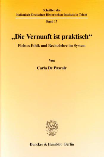 """Cover: """"Die Vernunft ist praktisch"""""""