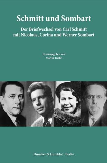 Cover: Schmitt und Sombart