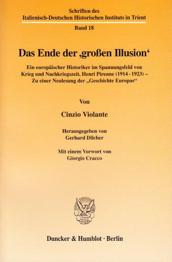 Cover: Das Ende der ›großen Illusion‹