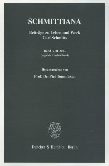 Cover: SCHMITTIANA (SCHMITT)