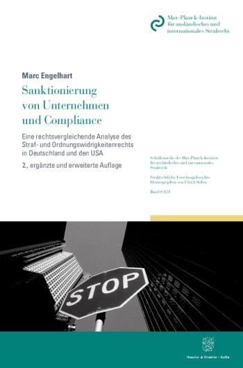 Cover: Sanktionierung von Unternehmen und Compliance