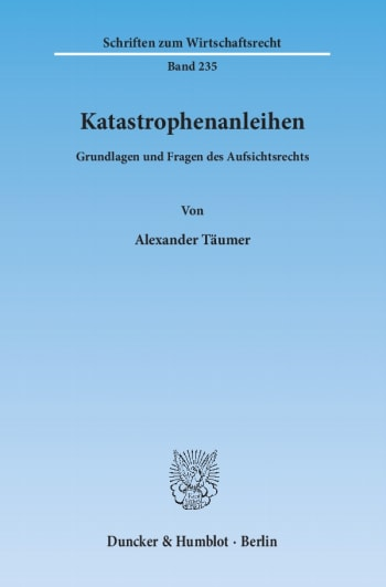 Cover: Katastrophenanleihen