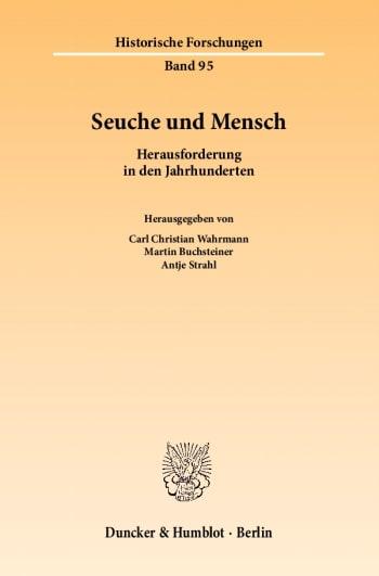 Cover: Seuche und Mensch