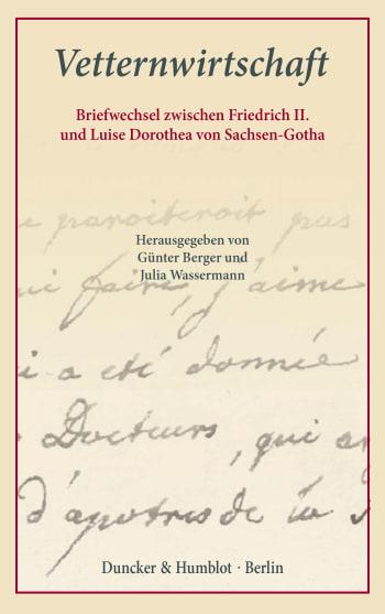 Cover: Vetternwirtschaft