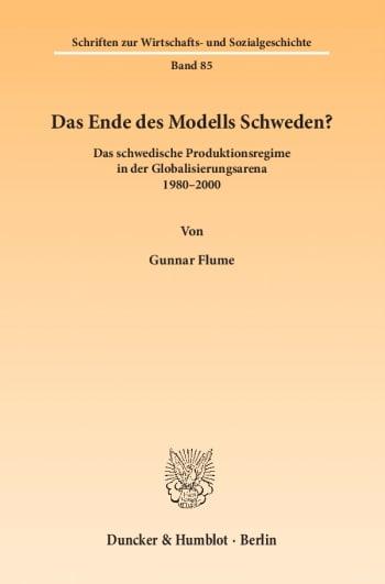 Cover: Das Ende des Modells Schweden?