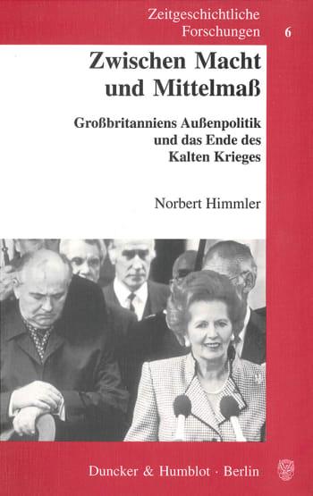Cover: Zwischen Macht und Mittelmaß
