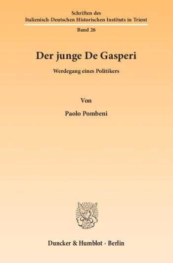 Cover: Der junge De Gasperi