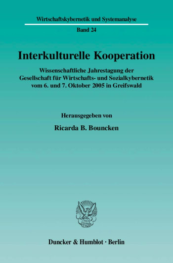 Cover: Interkulturelle Kooperation