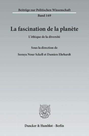 Cover: La fascination de la planète