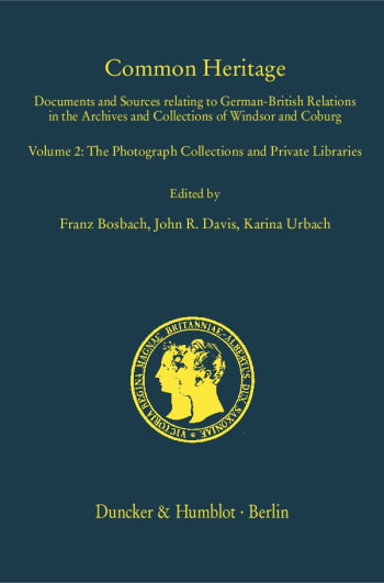 Cover: Prinz-Albert-Forschungen / Prince Albert Research Publications (PAF)