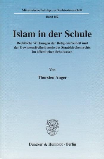 Cover: Islam in der Schule