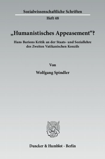 "Cover: ""Humanistisches Appeasement""?"