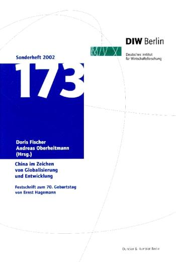 Cover: China im Zeichen von Globalisierung und Entwicklung