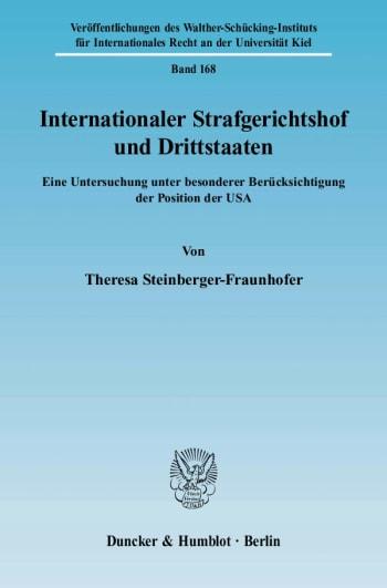 Cover: Internationaler Strafgerichtshof und Drittstaaten