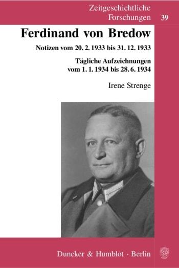 Cover: Ferdinand von Bredow