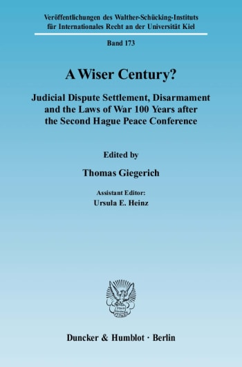 Cover: A Wiser Century?