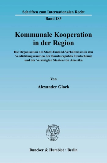 Cover: Kommunale Kooperation in der Region