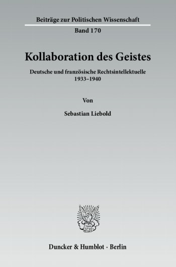 Cover: Kollaboration des Geistes