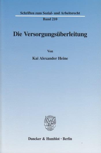 Cover: Die Versorgungsüberleitung